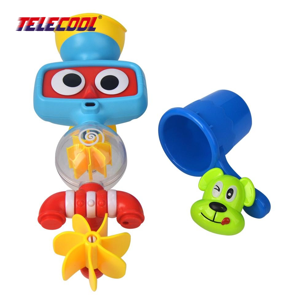 TELECOOL Multicolor Fun Baby Bath Toys Automatic Spout Play Taps ...