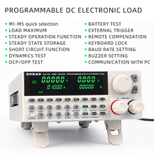 DC Electronic Programming Load Digital Control 150W Professional electrical Battery Tester 120V 30A RS232 USB Capacity Tester electronic load 0 10a 100w dc 12v discharge battery capacity tester testing module dc electronic load digital battery tester