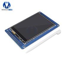 3.2 cal 320x240 320*240 moduł TFT LCD wyświetlacz z kontroler ekranu dotykowego panelu ILI9341 karty SD niż 128x64 3.2