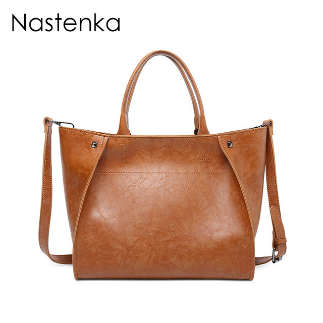 94541601b9 Nastenka Ladies Designer Large Handbags Luxury Shoulder Bags Women Designer  Crossbody Bags For Women Leather Tote Bag Sac a Main