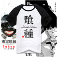 New Tokyo Ghoul T-Shirt Anime Cotton Short Sleeve Tops Men Clothes T Shirt Tshirt Tees
