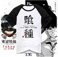 New tokio Ghoul camiseta Anime manga corta de algodón Tops ropa hombre T Shirt camiseta
