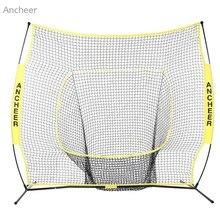 Прочный 7 x 7ft Софтбол Бейсбол Практика Чистая с бантом Рамки Компактная сумка для переноски софтбол обучение Чистая Открытый Обучение