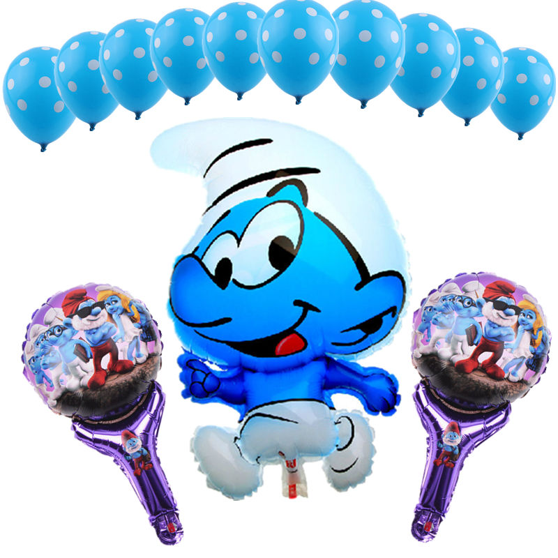 GOGO PAITY Hot 13pcs lot cartoon characters series set of aluminum balloons children s holiday party