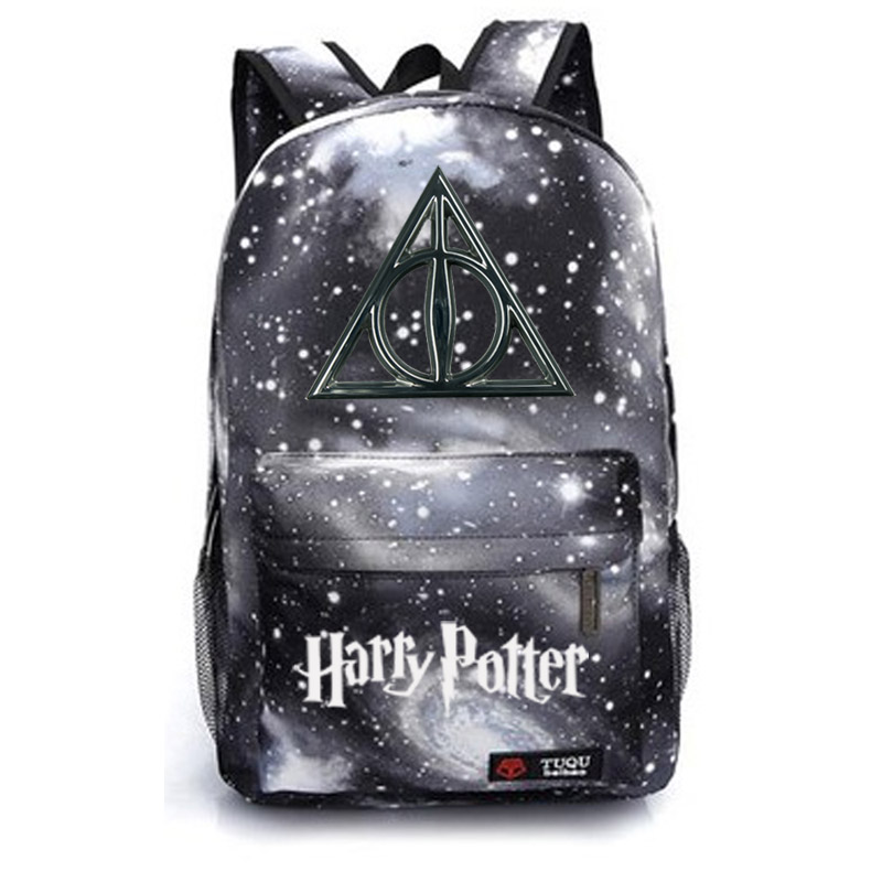 Harry Potter school bag backpack student school bag Notebook backpack Leisure Daily backpack new pattern hogg watts magic school school badge quartz pocket watch senior high school student harry potter gift table ds281
