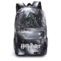 Harry Potter School Bag Backpack Student School Bag Notebook Backpack Leisure Daily Backpack