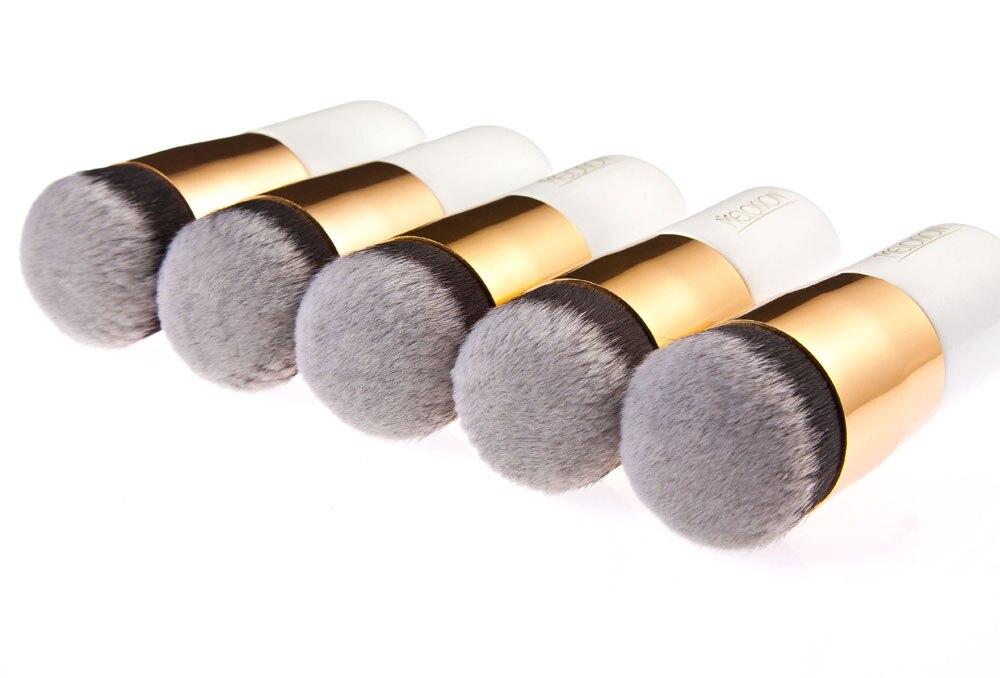 Huamianli Новый пухлые Pier фундамент кисть плоская крем профессиональных кистей для макияжа Красота косметические средства комплект составляют...