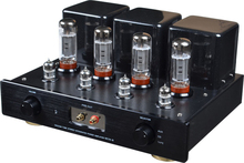 Meixing NEW version MC34-B Vacuum Tube integrated Amplifier 6L6*4 Class AB1 push-pull power Amplifier 22W*2 38W*2 110V/220V