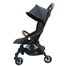Pocket baby stroller reclining sitting folding shock absorber light portable travel boarding umbrella baby stroller