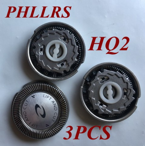 Сменные лезвия для электробритвы philips Norelco HQ222 HQ240 HQ2405 HQ242 HQ2425 HQ26 HQ284 HQ223 HS100, 3 шт.