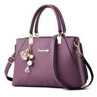 Ladies Handbag for women 2018 fashion top handle bag high quality shoulder bags women Large pu leather tote bag messenger bags
