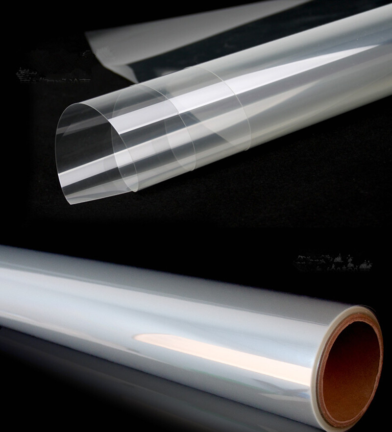 4mil Safety Security Anti Shatter Window Film Clear Glass Protection Width:100cm