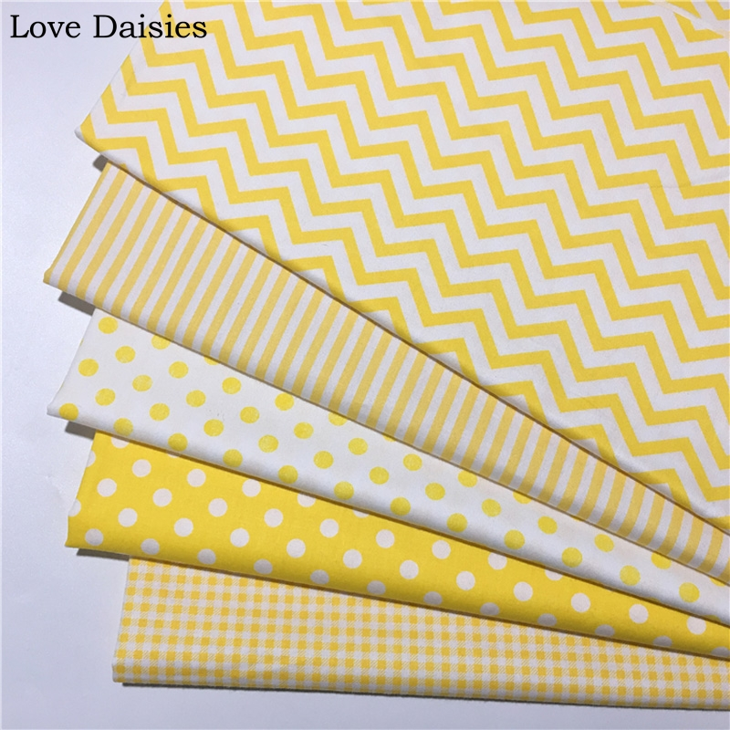 New 100/% cotton polka dots fabric by the metre in Lime