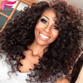 7A Remy Afro Kinky Curly Hair 100 percent Human Hair 4 Bundles deals Cheap Mongolian bouncy Curly Hair Weaves extensions on sale