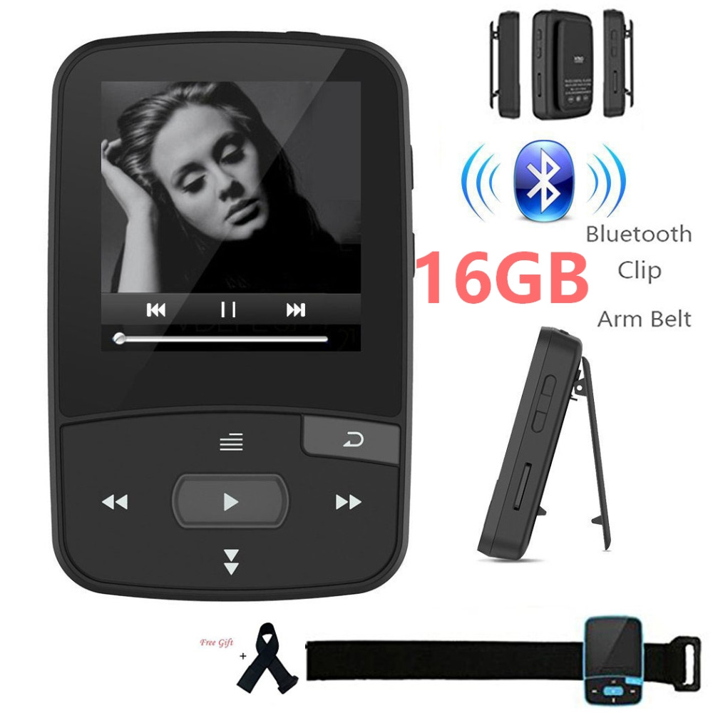 Original RUIZU X50 Mini Sport Clip Bluetooth mp3 player music player Support TF Card, FM Radio, Recording, E-book,Pedometer ruizu x50 8g bluetooth mp3 mp4 плееры