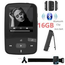 Оригинал RUIZU X50 Мини Спорт Клип Bluetooth mp3 плеер 8 ГБ плеера Поддержка TF Карта, FM Радио, записи, e-book, Шагомер