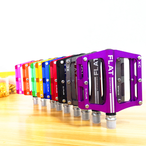 Новый горный велосипед 8 видов цветов на платформе сплав дорожный велосипед педали Сверхлегкий MTB велосипед педаль Аксессуары для велосипеда