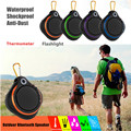 Askmeer Y2 Mini Outdoor IPX5 Waterproof Bluetooth Speaker Sports Wireless Bass Speakers Riding Subwoofer with TF Mic Flashlight