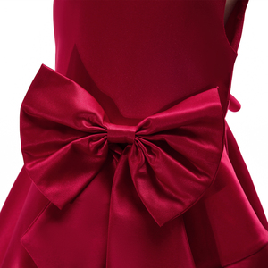 Image 5 - 2018 pembe kızlar prenses elbise çocuk akşam giyim çocuk örgün düğün parti Pageant elbise kızlar için balo elbisesi 7 8 9 yıl