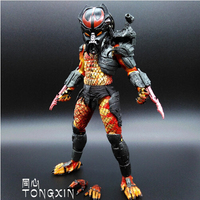 Predator VS Alien Viper Predator pvp predator Python with Mask Motivated Action Figure Model NECA