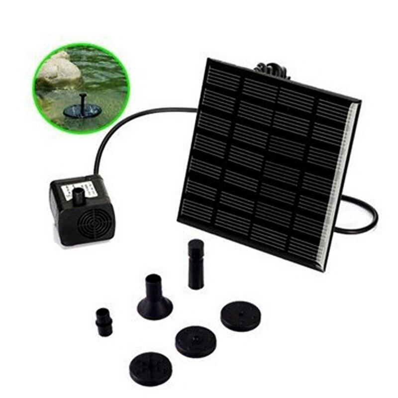 Bürstenlosen DC Solar Wasserpumpe Power Panel Kit Brunnen Pool Garten Bewässerung Pumb Solar Power Brunnen Garten Sprinkler