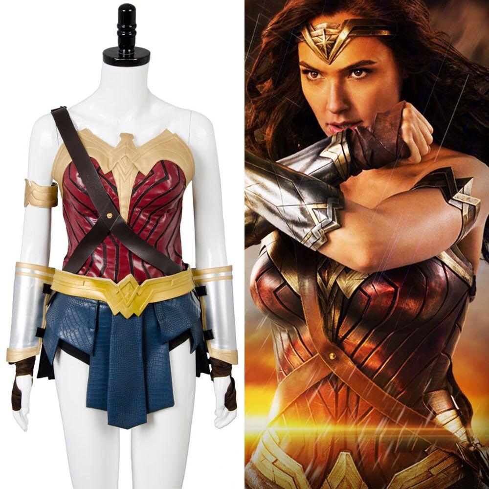 Luxury wonder woman costume-6985