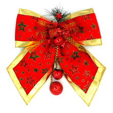 2 Kinds 2017 Christmas Decorations Ball Bowknot Ornaments Pendant Drop Ornaments For Home and Trees Christmas Crafts Xmas