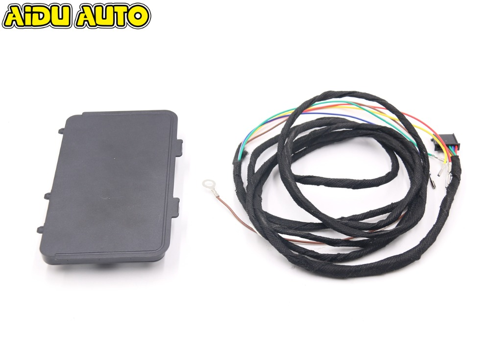 For Volkswagen VW Golf 7 7.5 MK7 Tiguan L wireless charger module 5NA 980 611 B наклейки e top zyva 319 nn vw topgear volkswagen tiguan