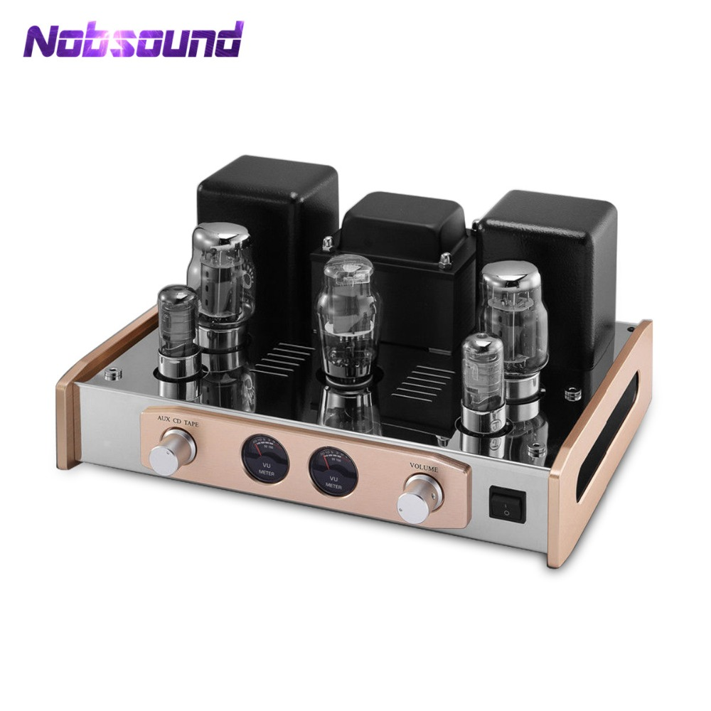 2019 Nobsound Hi-End KT88 Valvola Del Tubo Amplificatore Stereo Single-Ended HiFi Audio Amplificatore di Potenza 18 W * 2