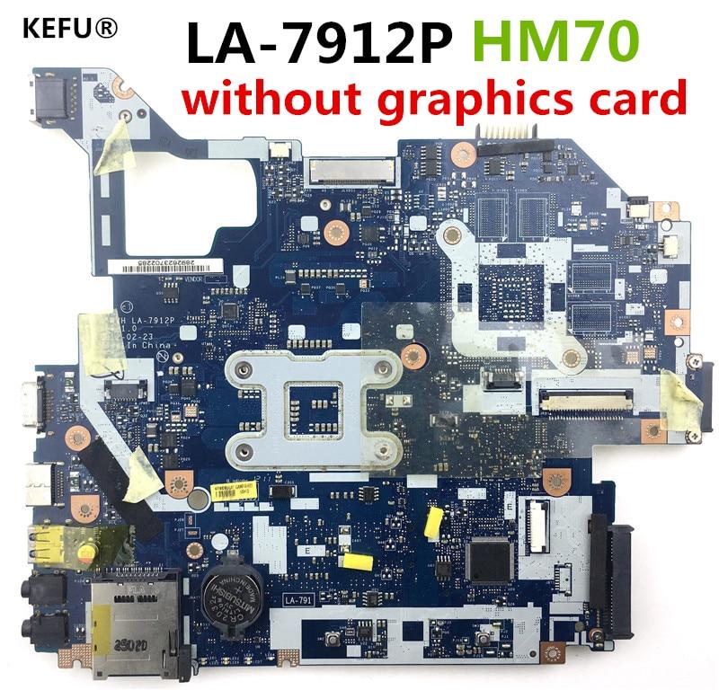 KEFU For Acer V3 571G V3 571 E1 571 laptop motherboard NBC1F11001 Motherboard LA 7912P Q5WVH