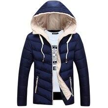 2017 Autumn Winter New Fashion Hooded Chaqueta Hombre Invierno Thick Waterproof Medium Long Stylish Winter Jackets Men