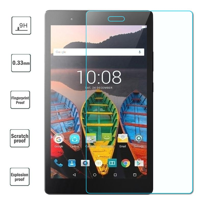 0.33mm Tempered Glass Film For Lenovo P8 TB-8703F Glass Screen Protector Protective Saver For Lenovo Tab 3 8 Plus 8inch 9H