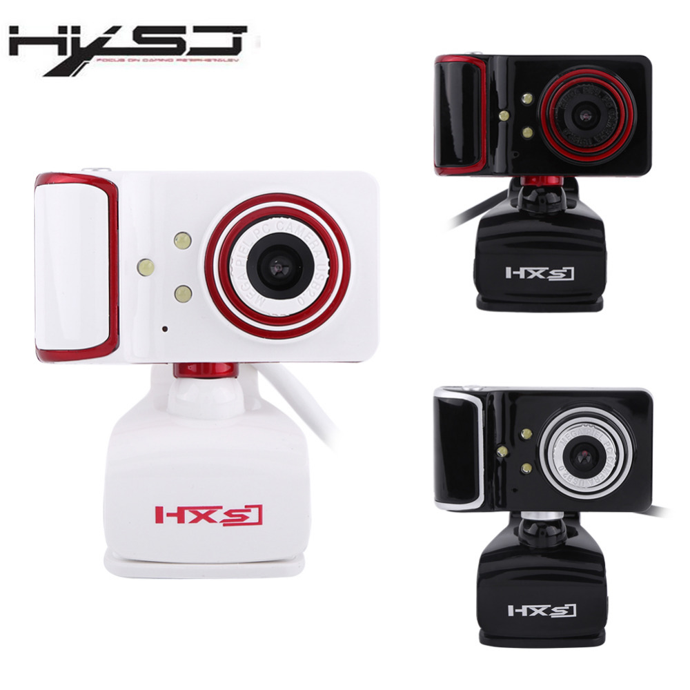 Hxsj s10 16m pixel by rotating adjusted hd web camera clip for Camera tv web