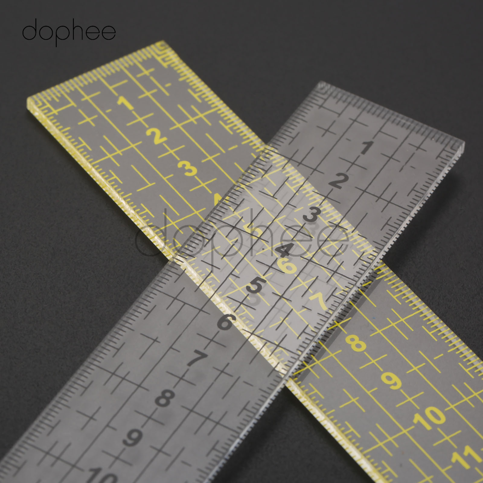 Quilting Ruler Haven Shop 5 Pcs Set Quilting Sewing Patchwork Craft Scale Ruler Triangle DIY Handmade Tailor Home Tools