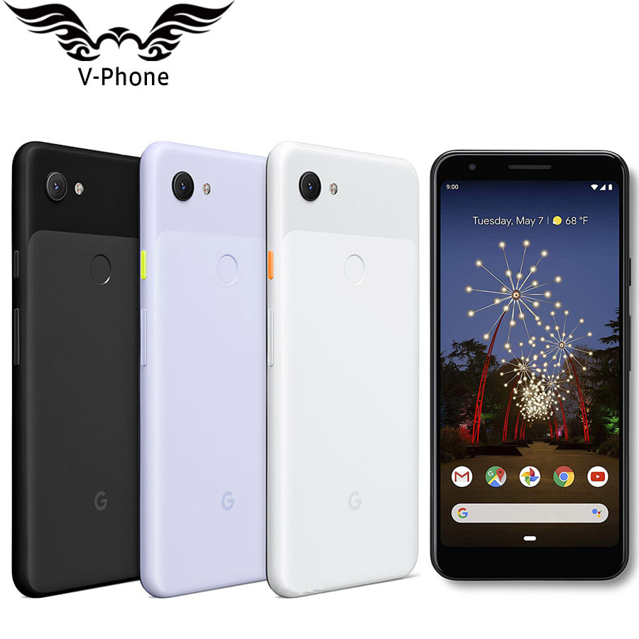 Original Brand New Google Pixel 3A 4GB 64GB Mobile Phone 4G LTE 5.6 Inch Snapdragon 670 Octa Core 12.2MP 8MP NFC Smartphone