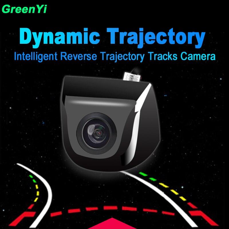 Visión Nocturna impermeable asistencia de aparcamiento inteligente trayectoria dinámica línea de aparcamiento vista trasera vehículo marcha atrás cámara de respaldo
