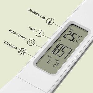 Image 5 - Lampe tactile pliable avec calendrier, lumière à intensité réglable, pour une Table de bureau, modèle LED