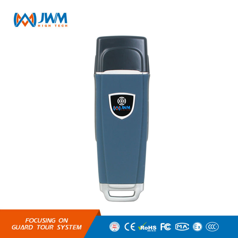 JWM Waterproof IP67 Rugger RFID Guard Tour Patrol System, Security Patrol Wand,Guard Tour Device with Free Cloud Software