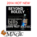 2014 new Beyond Holely by Will Tsai and SansMinds / close-up CARD  magic trick produsts / bicycle card case / free shipping
