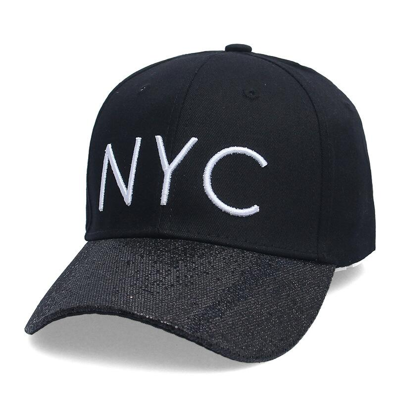 New cotton Letter NYC Baseball Cap Snapback hat for Men casquette women Leisure Outdoor Sport Hat wholesale fashion Accessories 2016 new new embroidered hold onto your friends casquette polos baseball cap strapback black white pink for men women cap