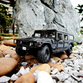 Brand New Very Cool 1/18 Scale Car Model Toys Hummer H1 SUV Diecast Metal Car Model Toy For Gift/Collection -Free Shipping