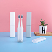Portable Travel Toothbrush Storage Box Holder Organizer Tooth Brush Container Camping