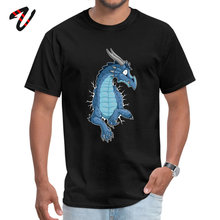 STUCK Blue Dragon Casual Kenya Sleeve Tops T Shirt Mother Day Crewneck Alien Men Top T-shirts Tshirts Cute