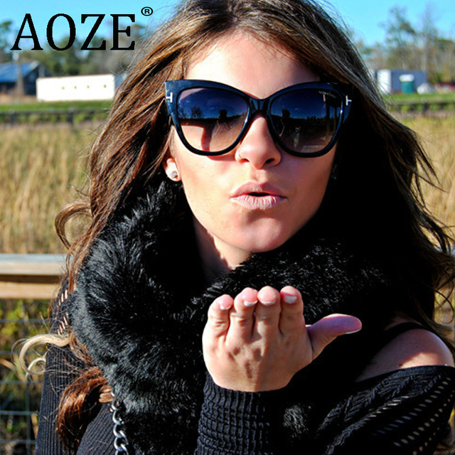 Sal chaude Mode Vintage Oversize Cat Eye Gafas Gradient lunettes de Soleil  Femmes Marque Designer Grand 944e7594da18