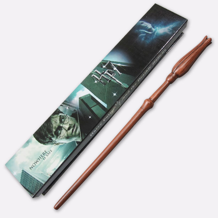 цены Magical Cosplay Wand gift Harry Potter wand Luna lovegood Non-luminous wand with cosplay box