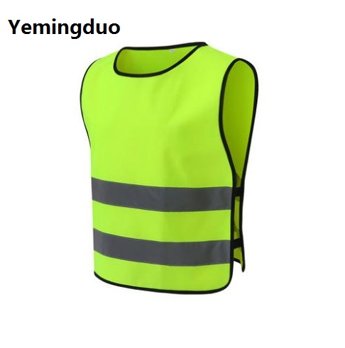 Up To Standard Children's Traffic Safety Reflective Clothing Students Primary Protective Vest cycling reflective clothing reflective vest safety clothing to road traffic motocross body armour protection jackets