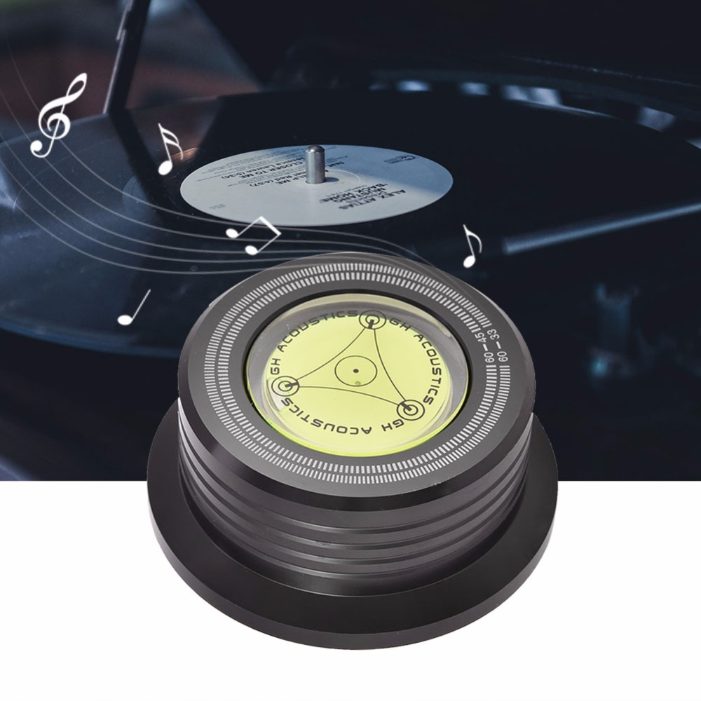 3 In 1 Record Clamp LP Disc Stabilizer Turntable For Vibration Balanced BR