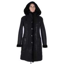 long women coat Artificial Suede Thickening Genuine Leather Mink collar Fur Direct supply from factory Cold resistant 2017 new