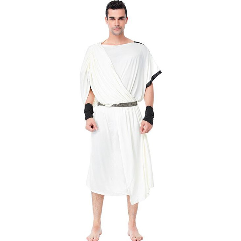 Classic  Ancient Rome Mens Costume Halloween Adult Cosplay Clothing