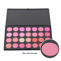 Professional 28 Color Eyeshadow Palette Beautiful Lipstick Makeup Palette Make Up Kit Retail And Wholesale Free Shipping